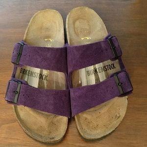 Birkenstock Double Strap Suede Sandal